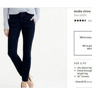 Andie Chinco J. Crew pants size 10